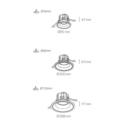Süvisvalgusti Kohl Luxo tehniline joonis