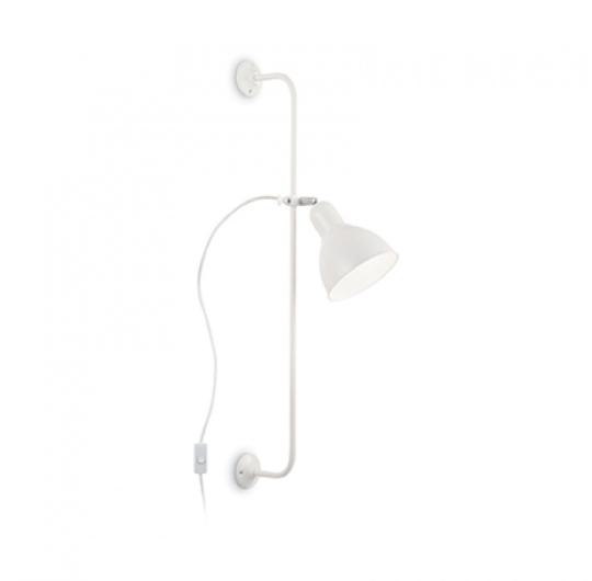 Ideallux seinavalgsuti Shower valge