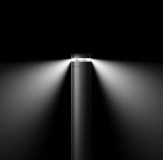 Bega välisvalgusti valgusvihk