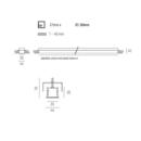 Moltoluce süvisvalgusti RideR tehniline joonis