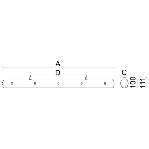 Laevalgusti Mareli RC-PRIME-LED-tööstusvalgusti data sheet 1