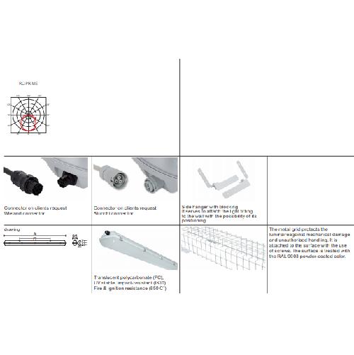 Laevalgusti Mareli RC-PRIME-LED-tööstusvalgusti data sheet