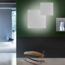 Studio Italia Puzzle Mega seinavalgusti interjöör