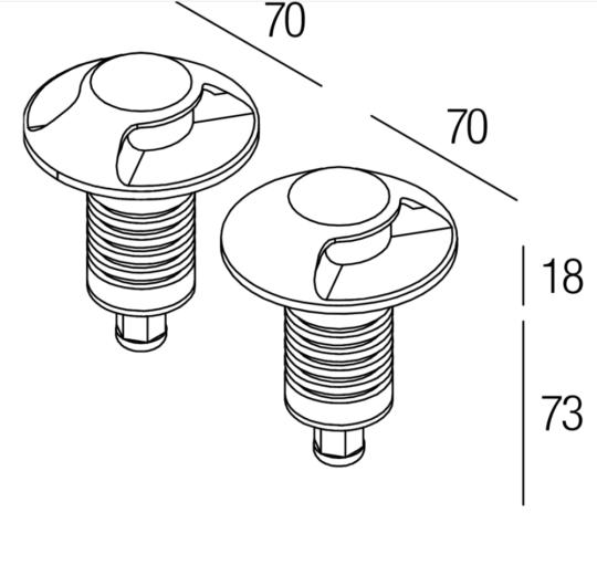 süvisvalgusti flexa AIR6-SL-01 data sheet