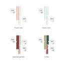 Pipes Tube Cluster CS värvid