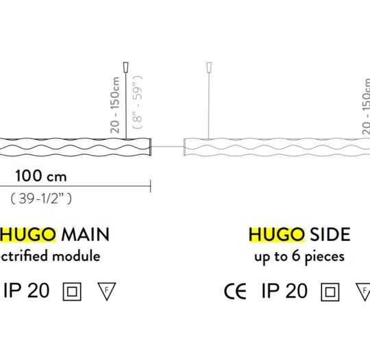 Slamp Hugo architectural joonis