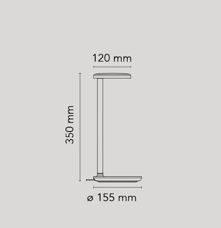 Lauavalgusti Oblique joonis