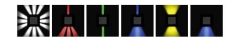Niiskuskindel seinavalgusti Poker, 8,1W/732lm led, IP65