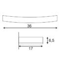 Seinavalgusti GL102 Curve