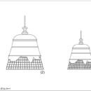 Keraamiline rippvalgusti Domenica