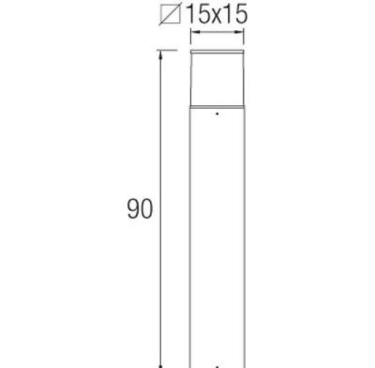 Pollarvalgusti Cubik, IP54