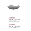 Laevalgusti Elegantia 6000/6005