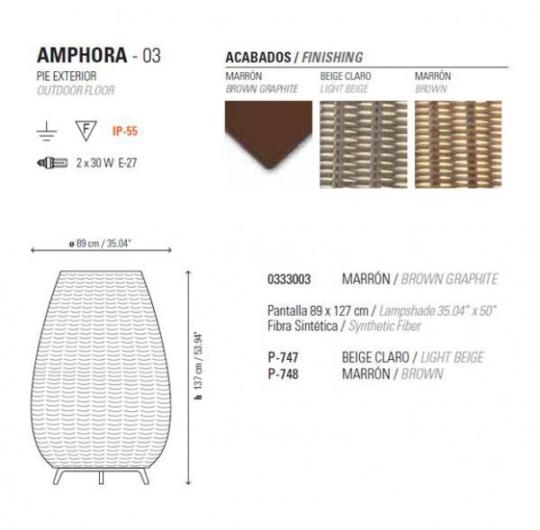 Välisvalgusti Amphora, IP55