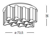 Laevalgusti Compo, E27 soklitega
