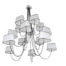 Rippvalgusti Petit Nuage design heure