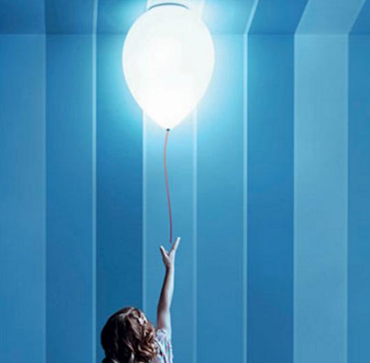 Laevalgusti estilusz balloon