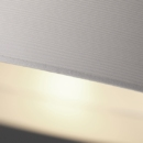 Rippvalgusti Exenia Zero out white wood detail