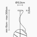 Rippvalgusti Armilla, E27 sokliga