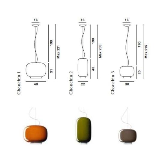 Rippvalgusti Chouchin 3, E27 sokliga