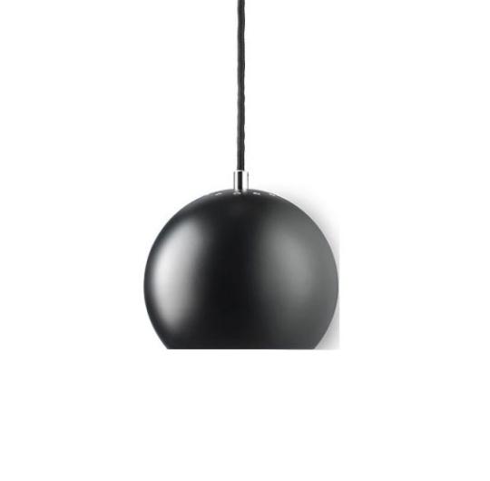 Laevalgusti Frandsen Ball black matt