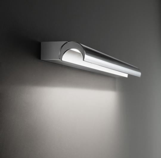 Seinavalgusti linea-light-halfpipe kroom