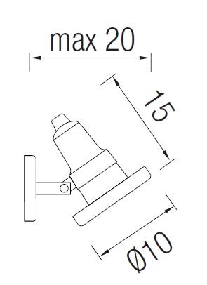 Välisvalgusti Helio, IP67