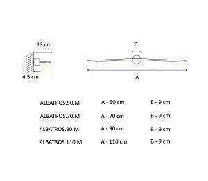 Seinavalgusti Albatros M