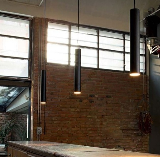 Look IdealLux rippvalgusti interjööris