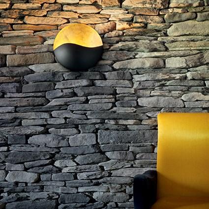 Ideallux Sunrise seinavalgusti interjööris