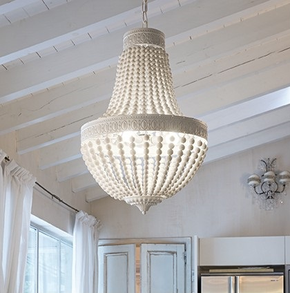 Ideallux rippvalgusti Monet interjööris