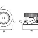 Süvisvalgusti Lugstar Shop Led, 45W/2400lm, IP44