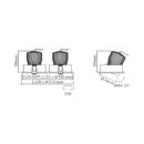 Süvisvalgusti Doppio Lente, 2x9W/720lm, 3000K, IP43
