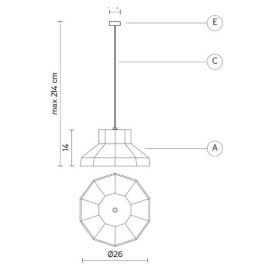 Välisvalgusti Gongolo, 17,5W/700lm LED, 3200K, IP65