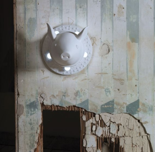 Seinavalgusti Porcamiseria, 5x28W E27