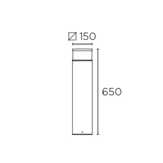 Pollarvalgusti Cubik, 15W/833lm led