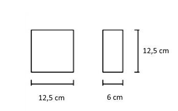 Kipsist seinavalgusti Ges, 4,4W/330lm led