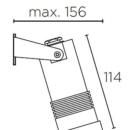 Niiskuskindel valgusti Micro, 3W/396lm Led, IP65