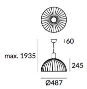 Rippvalgusti Contrast, E27 sokliga