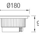 Süvistatav välisvalgusti Gea, IP65