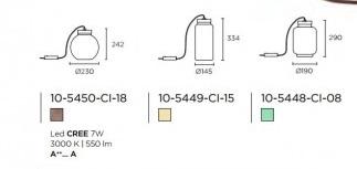 Laua/põrandavalgusti Raw, 7W/550lm Led