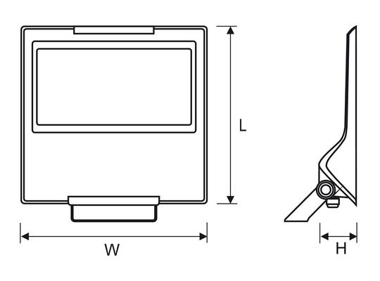 Led-prožektor Powerlug Led, 152W/18700lm, IP65