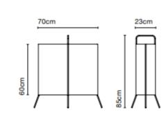Niiskuskindel põranda/lauavalgusti LaFlaca, IP65