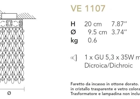 Süvisvalgusti 1107