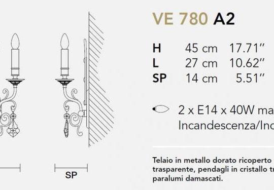 Seinavalgusti Impero 780/A2