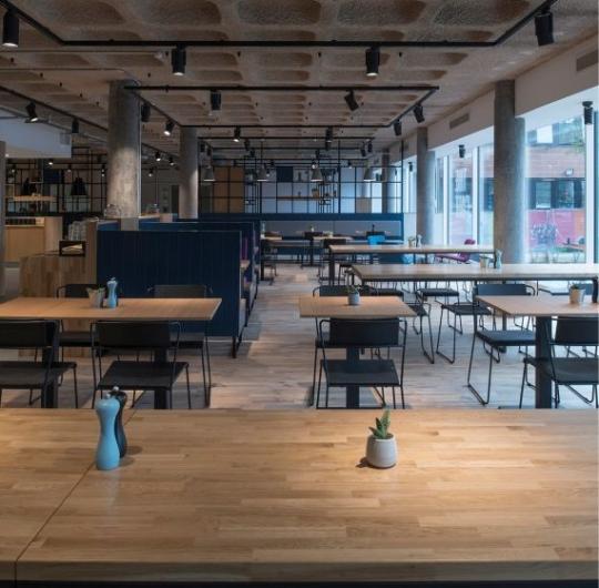 THE CAFE - HUNTER BUILDING - EDINBURGH COLLEGE OF ART