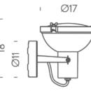 Lae/seinavalgusti Projecteur 165, 23W E27