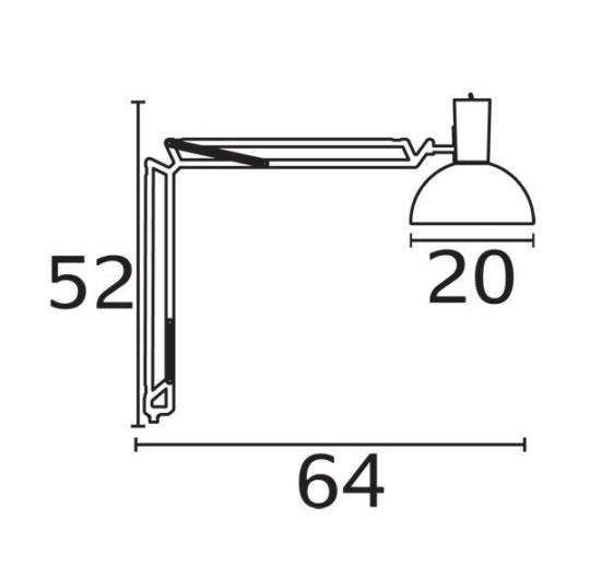 Laua/seinavalgusti Arki