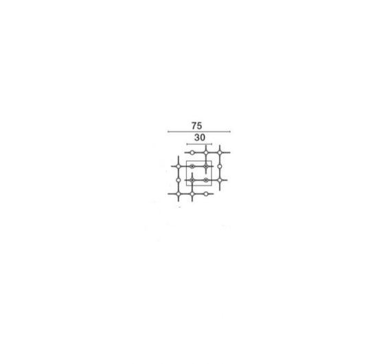 Laevalgusti Atomo, 18x2,4W/3024lm 3000K led