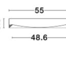 Laevalgusti Luton, 47W/3525lm led, 3000K
