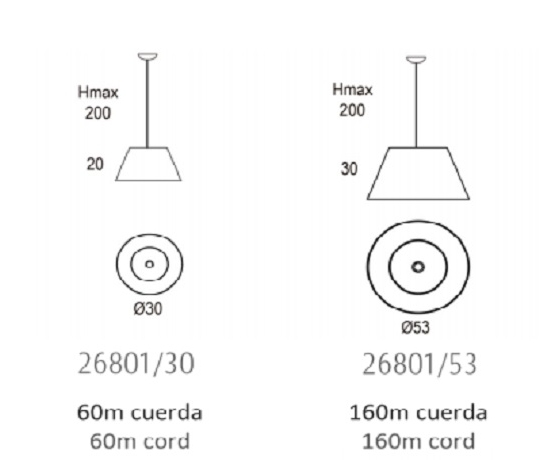 Rippvalgusti Conga, E27